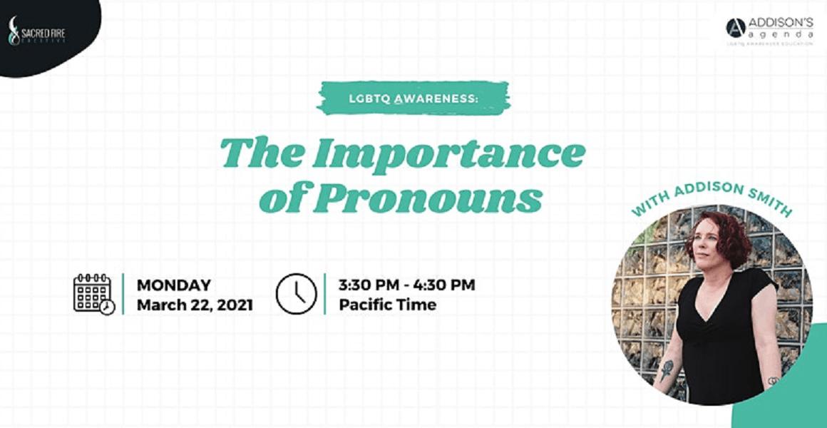 lgbtq, the importance of pronouns